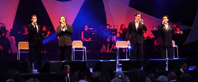 Il Divo y Toni Braxton - Time of our lives. Canción oficial del Mundial Alemania 2006